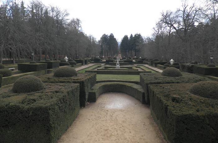 Jardines del Palacio Real de La Granja de San Ildefonso qué ver en Segovia en un día