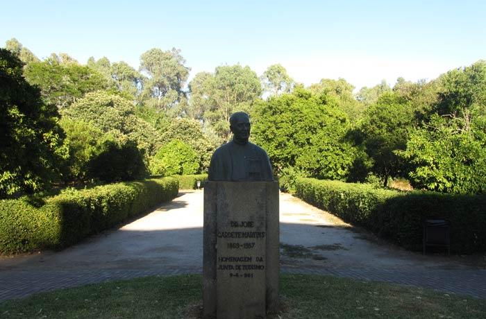 Busto de Jose Gardete, fundador de Monfortinho termas