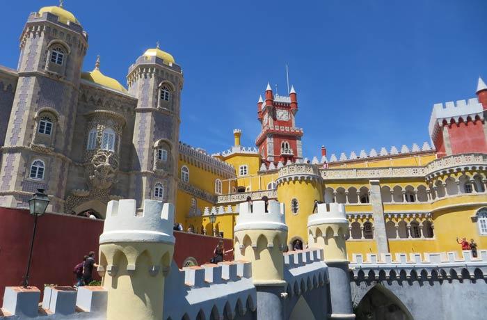 Muralla exterior del Palacio da Pena qué ver en Sintra