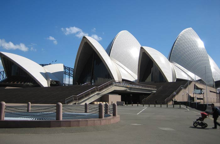 Vista de la Ópera de Sídney