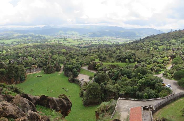 Vista de Cabárceno y su privilegiado entorno