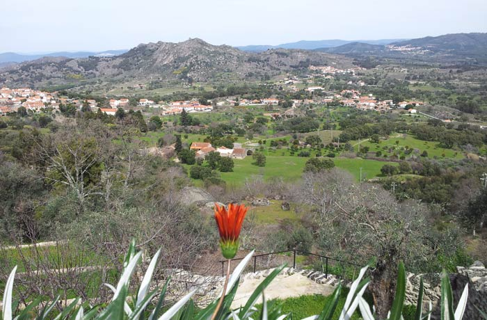 Vistas del entorno de Monsanto desde uno de sus miradores Portugal