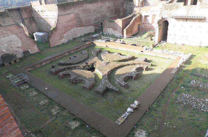 Casa de Augusto en el Palatino Coliseo y Foro Romano