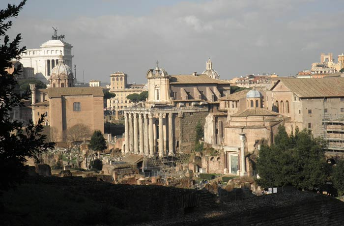 Panorámica del Foro