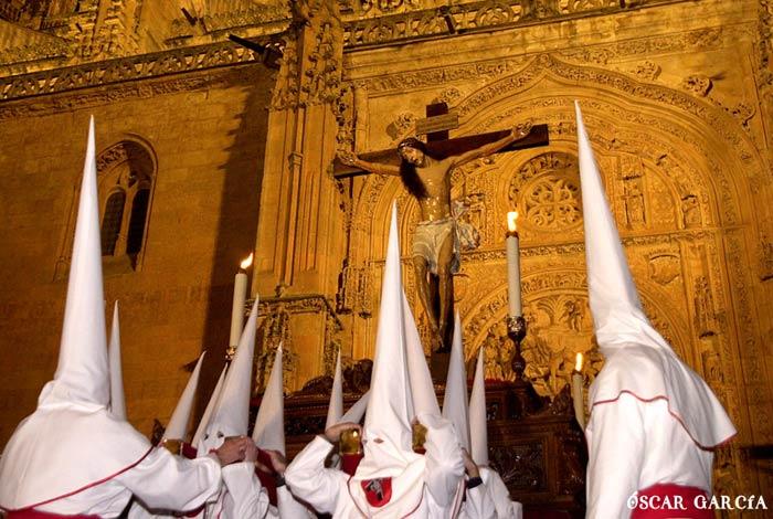 El Santísimo Cristo de la Agonía Redentora el Jueves Santo Semana Santa Salamanca