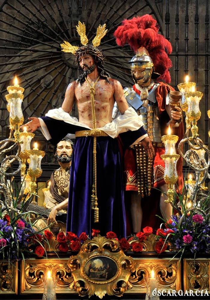Nuestro Padre Jesús Despojado de sus vestiduras el Domingo de Ramos Semana Santa Salamanca