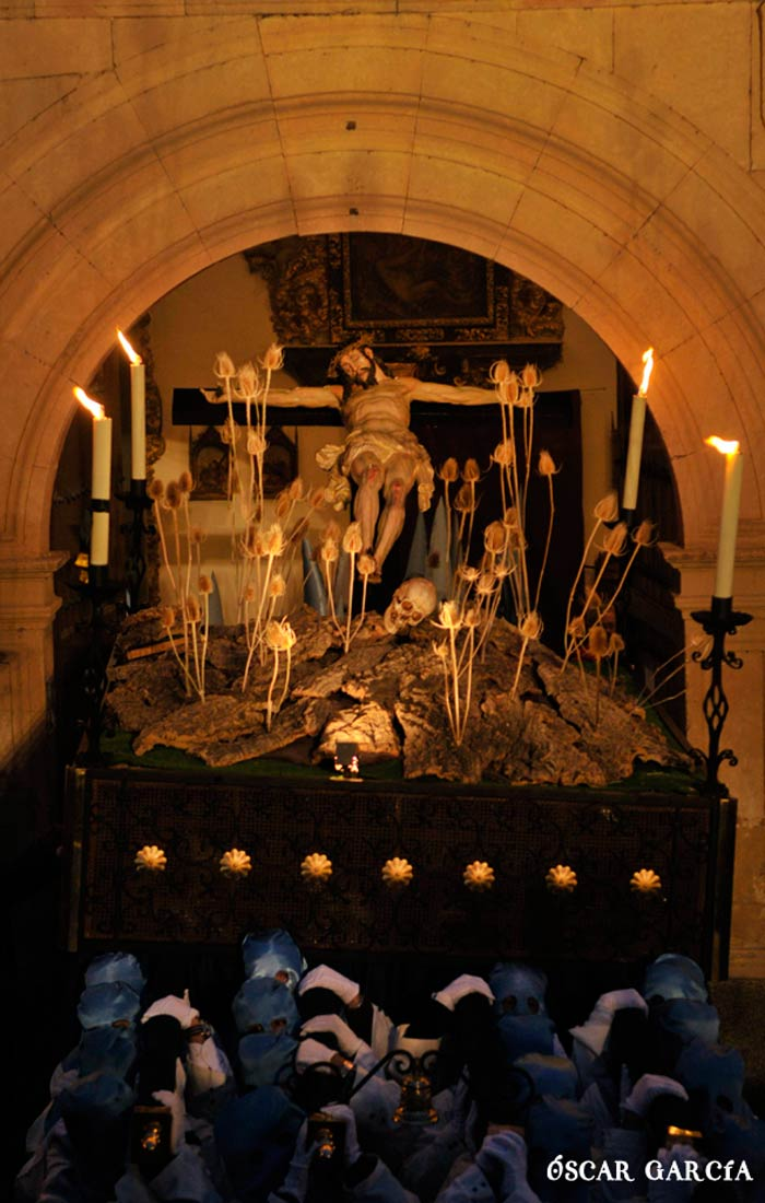 Santísimo Cristo de los Doctrinos el Lunes Santo Semana Santa Salamanca