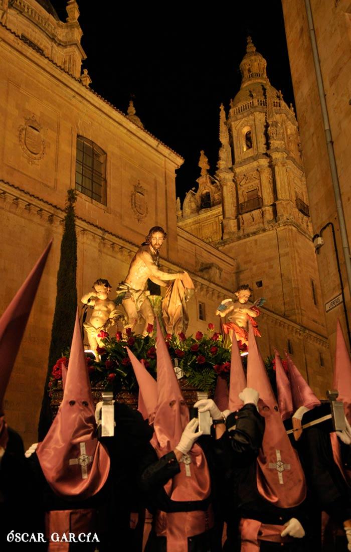 Jesús Flagelado del Miércoles Santo Semana Santa Salamanca