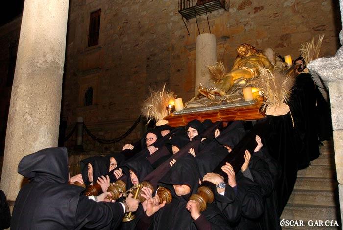 El Cristo de la Liberación del Viernes Santo Semana Santa Salamanca