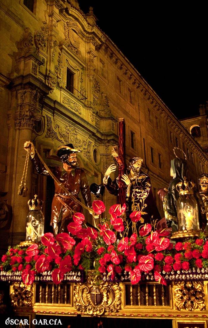 """Jesús en la Calle de la Amargura """"Nazareno"""" el Viernes Santo Semana Santa Salamanca"""