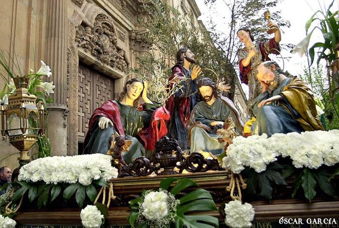 La Oración de Jesús en el Huerto de los Olivos el Viernes Santo Semana Santa Salamanca