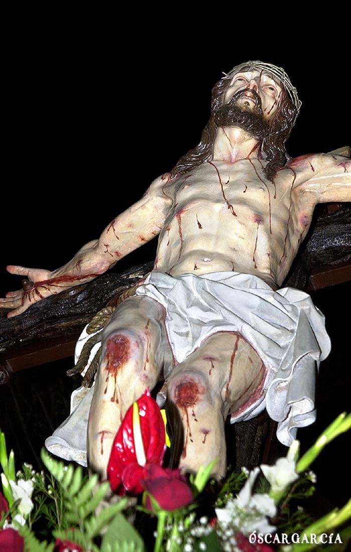 Cristo del Perdón el Domingo de Ramos Semana Santa Salamanca
