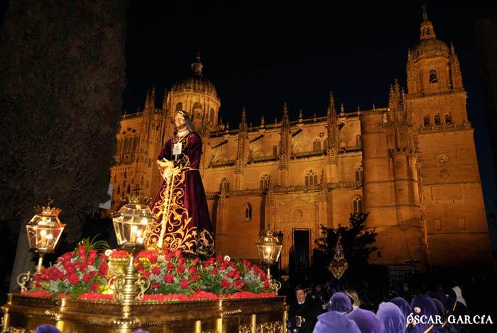 """Jesús Divino Redentor """"El Rescatado"""" el Viernes Santo Semana Santa Salamanca"""