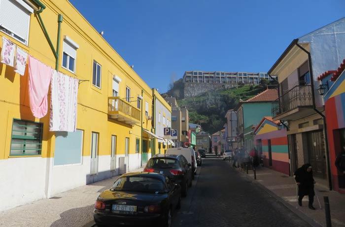 Una de las calle de Sao Pedro da Afurada