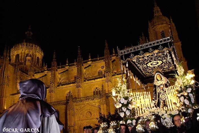 Nuestra Señora de la Soledad el Viernes Santo Semana Santa Salamanca