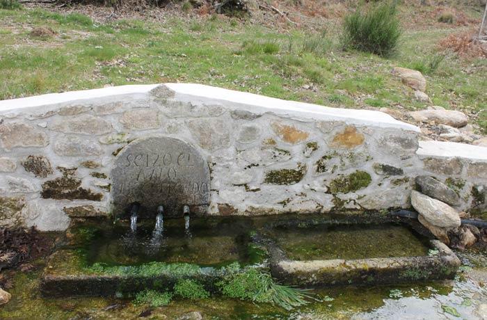 Fuente Matafrailes senderismo en el Jerte