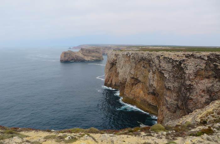 Los acantilados del Cabo San Vicente Portugal
