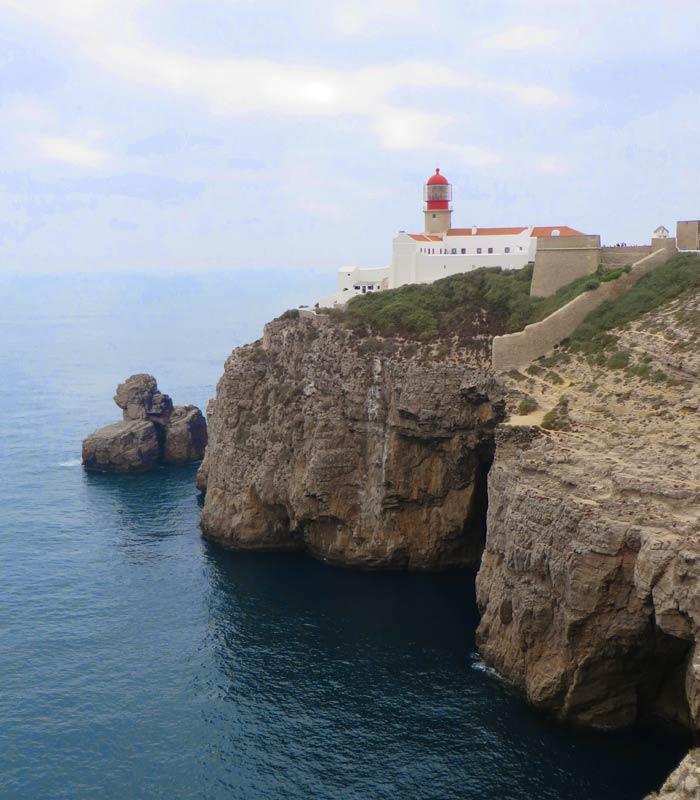 Otra vista del Cabo San Vicente Portugal