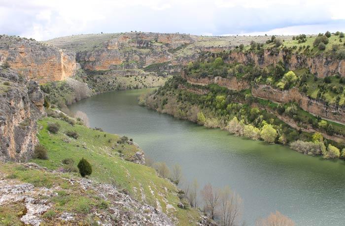 El río Duratón desde la ermita de San Frutos