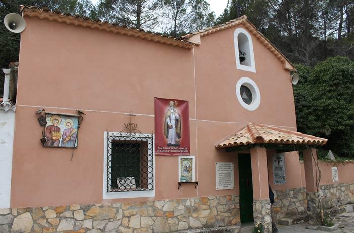 """Ermita de San Julián """"El Tranquilo"""" ruta de la Hoz del Júcar"""