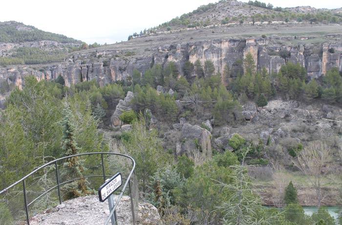 Mirador de San Lesmes ruta de la Hoz del Júcar
