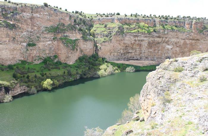 Vista del Duratón desde las proximidades del cementerio ermita de San Frutos