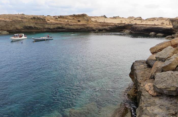 Acantilados de Can Marroig que ver en Formentera