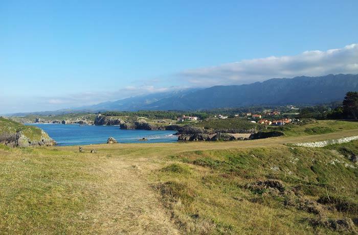 Entorno de la playa de Borizu