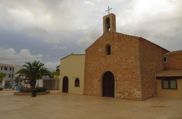 Iglesia de Sant Ferrán de Ses Roques que ver en Formentera
