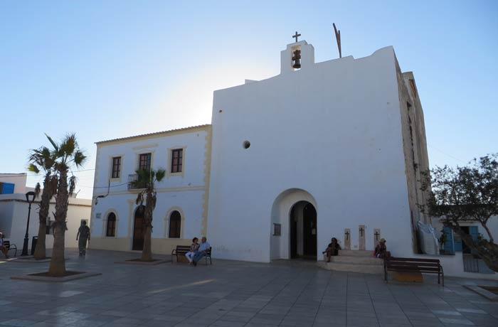Iglesia de San Francisco Javier que ver en Formentera