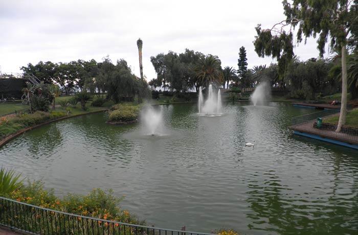 Parque de Santa Catarina de Funchal Una semana en Madeira