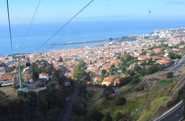 Teleférico de Monte Una semana en Madeira