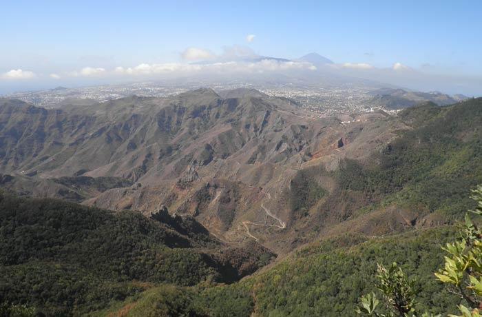 Panorámica de Anaga qué ver en Tenerife