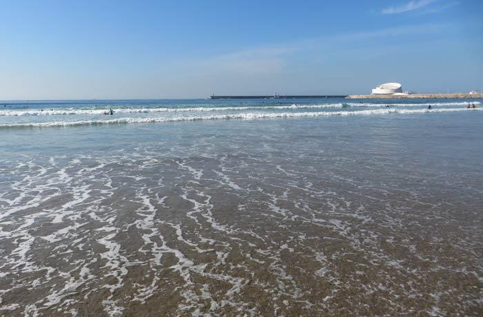 El Atlántico, en la playa de Matosinhos Oporto