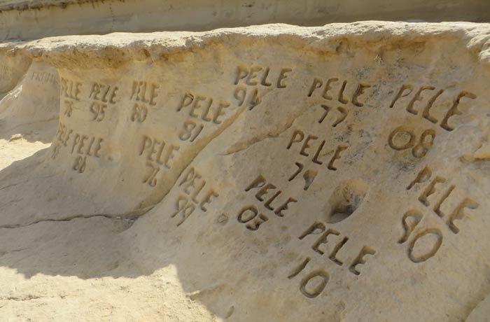 Firmas de Pele en St. Peter's Pool