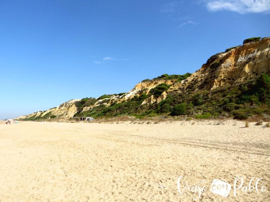 Playa del Rompeculos playas de Huelva