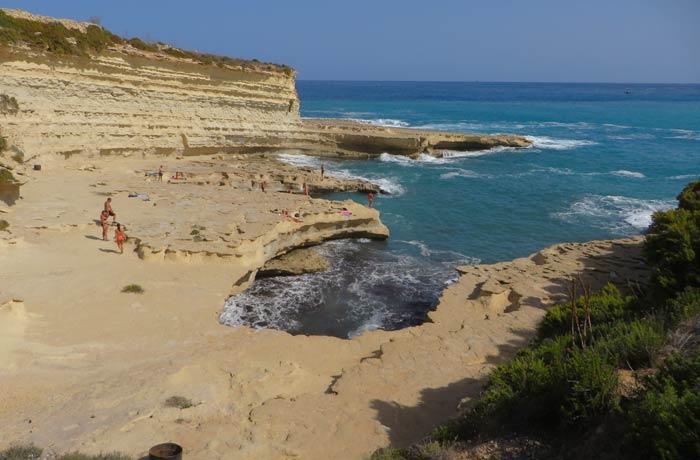 St. Peter's Pool en Malta