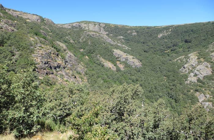 Valle del río Truchas Cascada de Sotillo