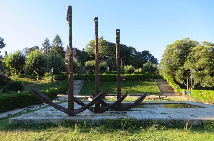 Monumento a la batalla de Rande Monte del Castro