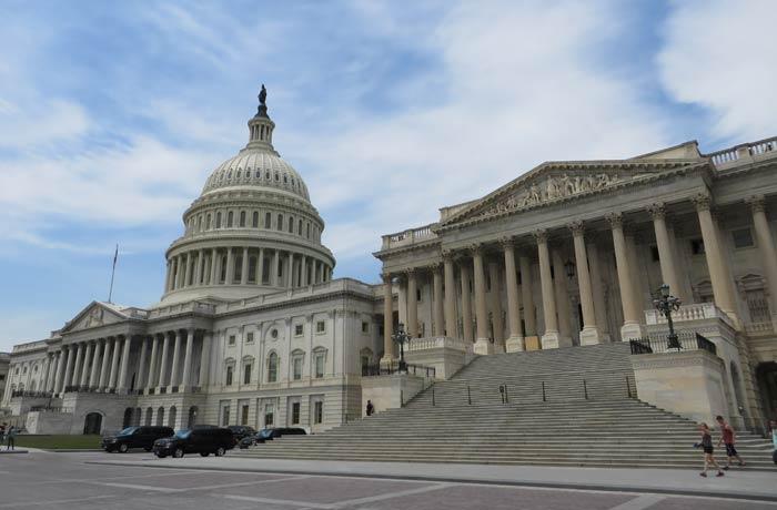 Capitolio en Washington qué es el ESTA