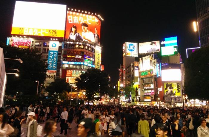Cruce de Shibuya en Tokio Japón por libre