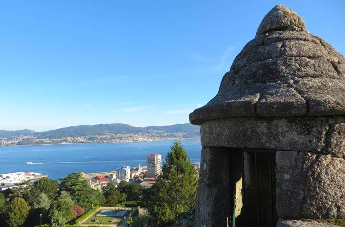 Garita más antigua que se conserva en el Castillo del Castro