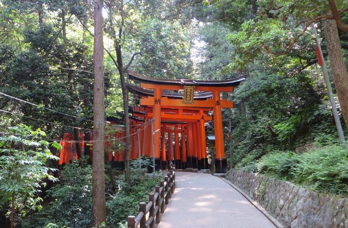 El Fushimi Inari-Taisha y su hilera de toriis Japón por libre