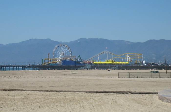 Playa de Santa Mónica en Los Ángeles qué es el ESTA