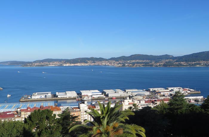 Ría de Vigo desde el Monte del Castro