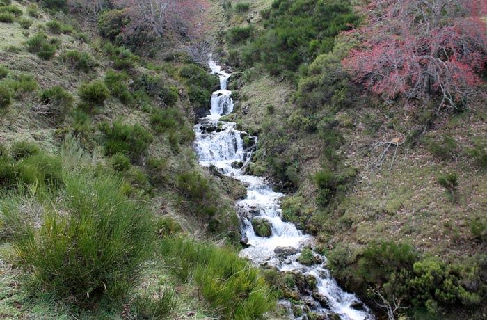 El río del Valle, en las proximidades del Lago del Valle