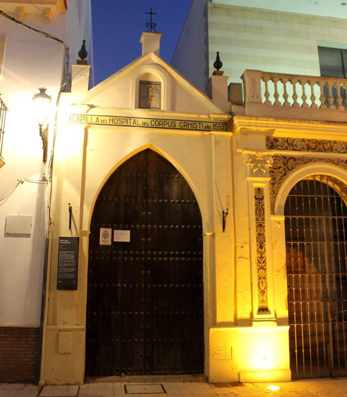 Capilla del Hospital del Corpus Christi qué ver en Moguer