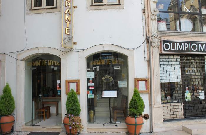 Restaurante Carmina de Matos comer en Coimbra