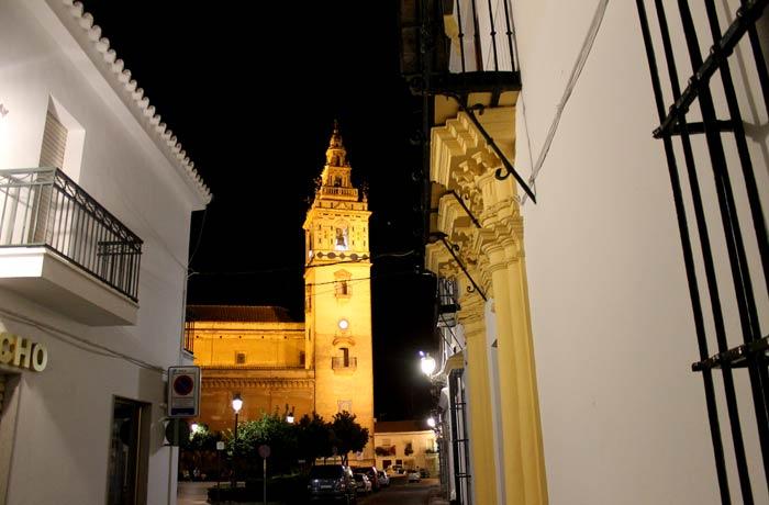Torre de la iglesia de Nuestra Señora de la Granada qué ver en Moguer