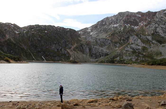 Vista del Lago del Valle